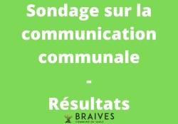 Sondage sur la communication et la diffusion du Conseil communal : tous les résultats