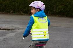 Soyez bien visible sur votre vélo !