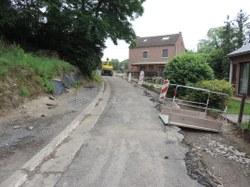 Travaux: ralentissement du chantier rue Colonval