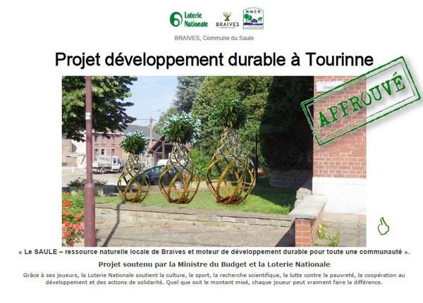 projet développement durable Tourinne