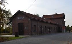 Ancienne Gare de Braives (Nadine Alexis)