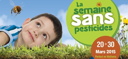 Semaine sans pesticides 2015